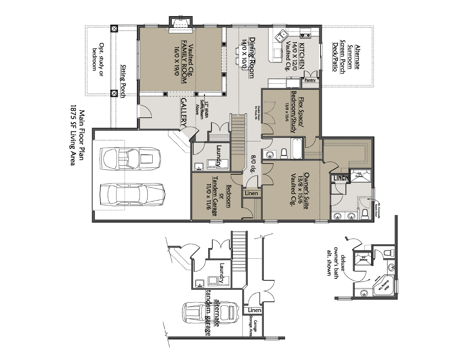 Cluster Home B Floor Plan